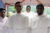 Bros. Raj Simon Theiva with Their Formator Br. Barry