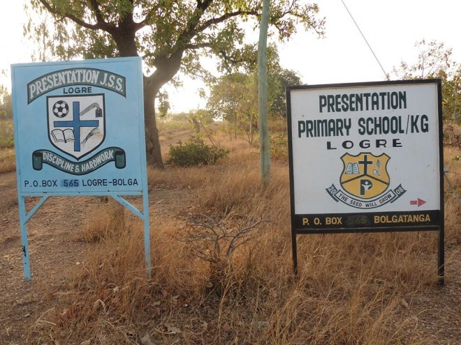Welcome to our schools in Logre, Ghana!