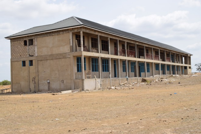 Construction Of The New Presentation Brothers School In Bolgatanga.