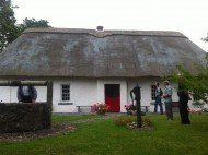 The cottage in Callan where Blessed Edmund was born.