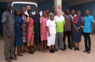 The Teams with the Daughters of Charity Postulancy community